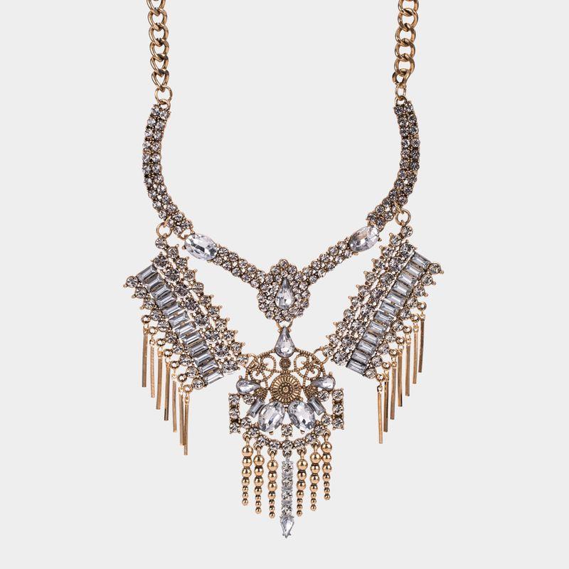 Alloy Fashion Tassel necklace  Alloy NHYT1022Alloy