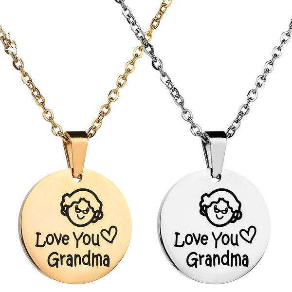 Titanium&Stainless Steel Fashion Cartoon necklace  (Steel color) NHHF0991-Steel-color