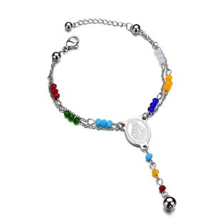 Titanium&Stainless Steel Punk Geometric bracelet  (color) NHHF1009-color's discount tags