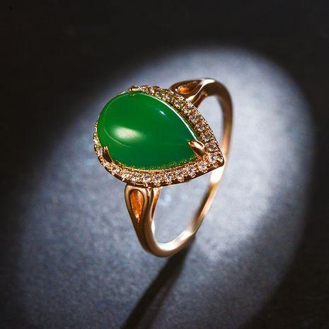 Alloy Fashion Geometric Ring  (Rose chlorite-16mm) NHLJ4072-Rose-chlorite-16mm's discount tags