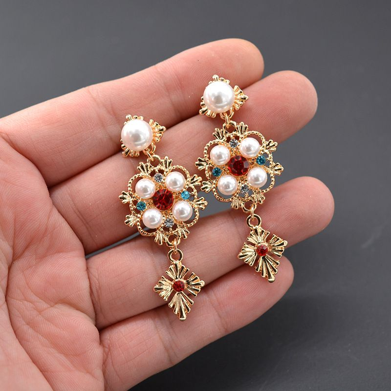 Alloy Fashion Geometric earring  Alloy NHNT0643Alloy