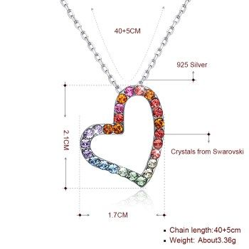 Platinum Plated  Necklaces NHKL13357