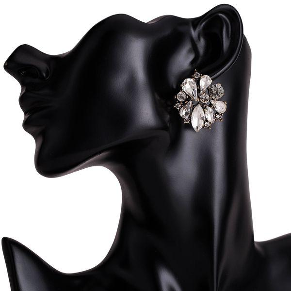 Alloy Fashion Flowers earring  (white) NHJE1899-white