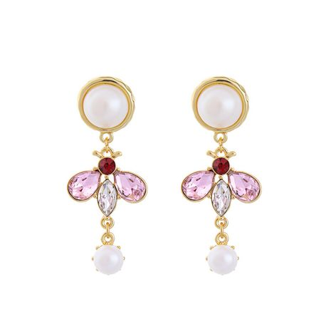 Alloy Fashion Geometric earring  (Pink-1) NHQD5588-Pink-1's discount tags