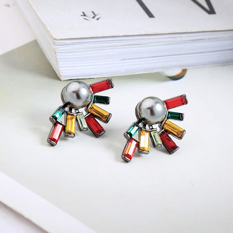 Alloy Fashion Geometric earring  (Photo Color) NHQD5602-Photo-Color's discount tags