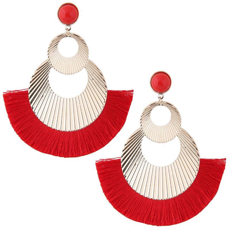 Alloy Fashion earring NHNSC13181