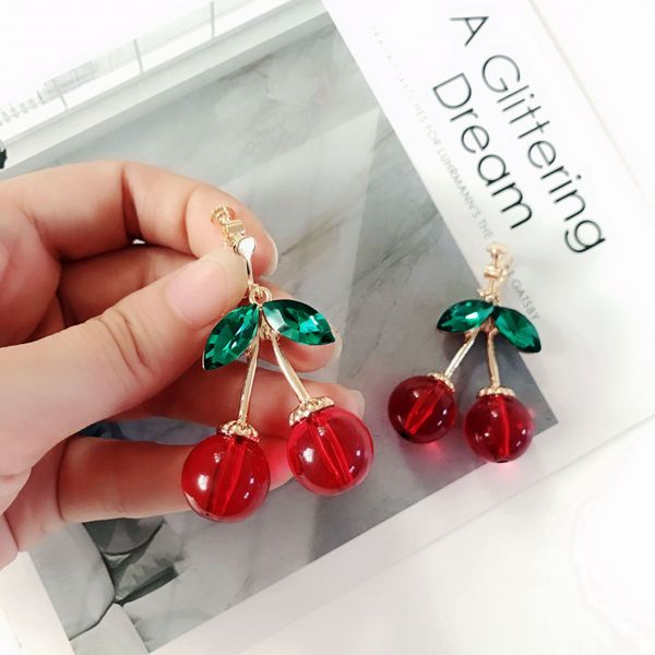 Alloy Fashion Geometric earring  (Photo Color) NHOM0816-Photo-Color