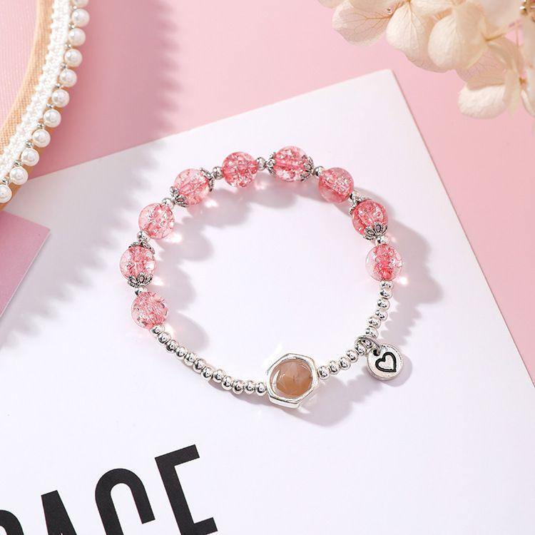 Alloy Korea Geometric bracelet  (X2206A red) NHMS1291-X2206A-red