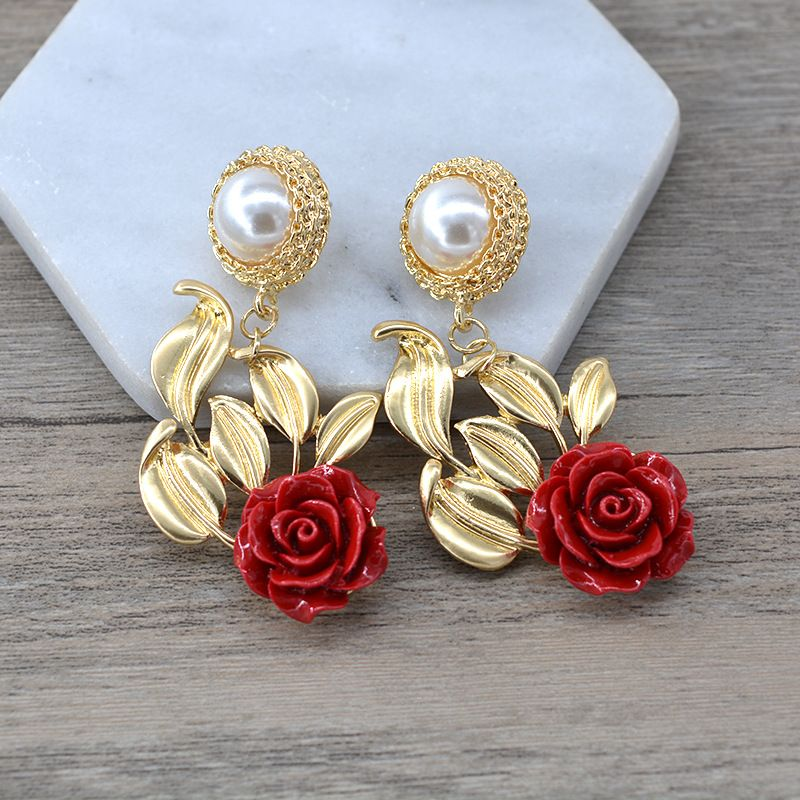 Alloy Simple Bows earring  (Alloy) NHNT0617-Alloy