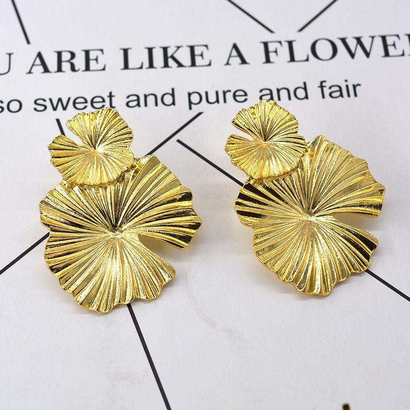 Alloy Vintage Geometric earring  (Alloy) NHNT0629-Alloy