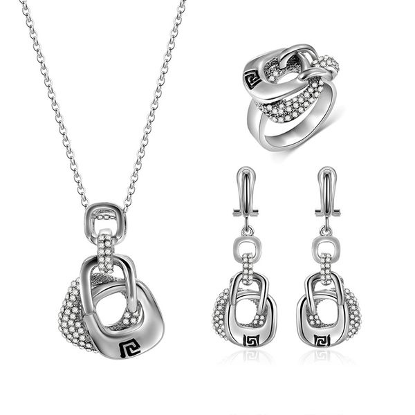 Alloy Fashion  necklace  (61173179) NHXS1671-61173179