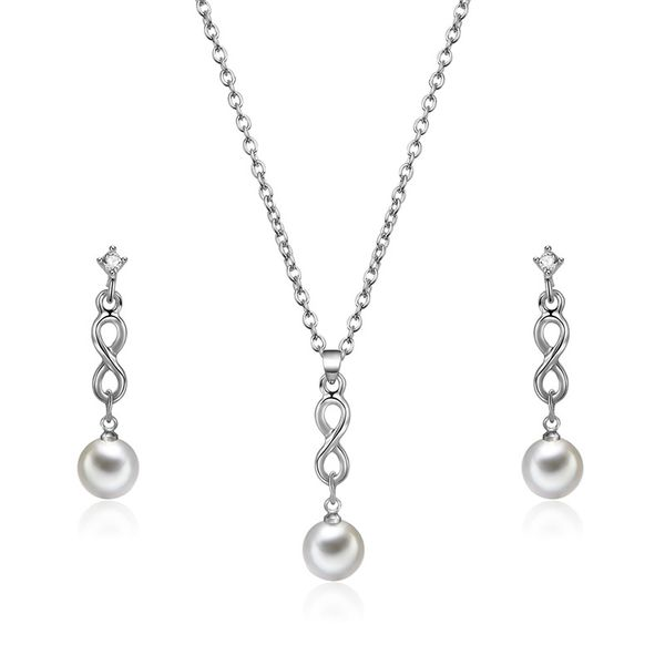 Alloy Simple  necklace  (61172540A alloy) NHXS1683-61172540A-alloy
