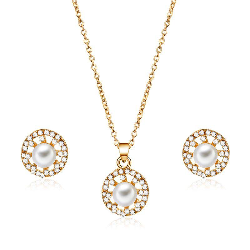 Alloy Korea  necklace  (61172494 alloy) NHXS1687-61172494-alloy