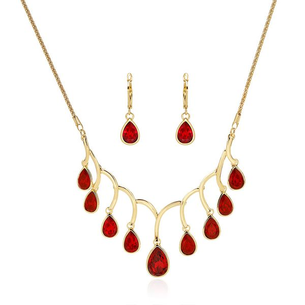Alloy Korea  Bridal jewelry  (61172509 red) NHXS1690-61172509-red