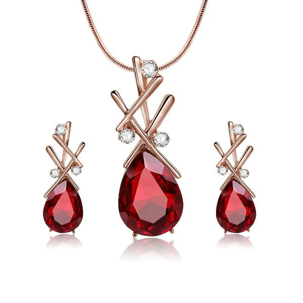 Alloy Korea  necklace  (61172512 red) NHXS1693-61172512-red