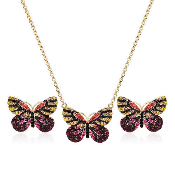 Alloy Korea  necklace  (61172503B alloy) NHXS1697-61172503B-alloy