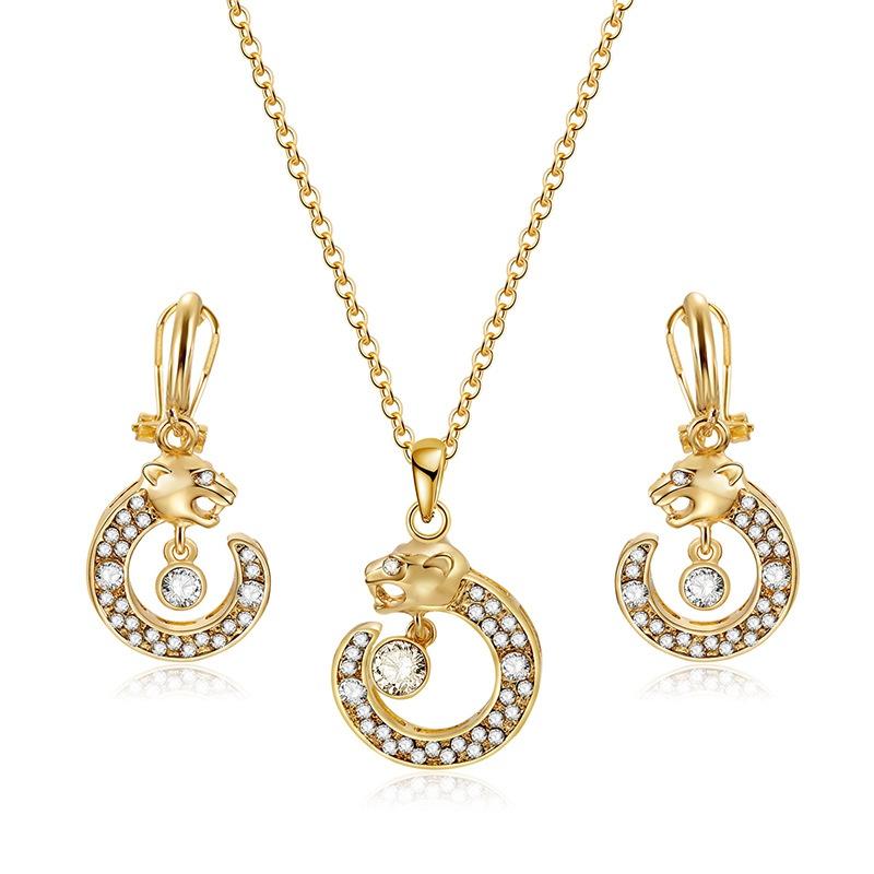 Alloy Korea  necklace  (61172465 alloy) NHXS1698-61172465-alloy