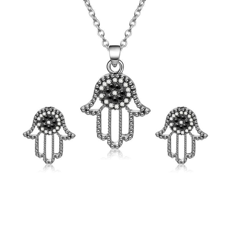 Alloy Korea  necklace  (61172485 alloy) NHXS1699-61172485-alloy