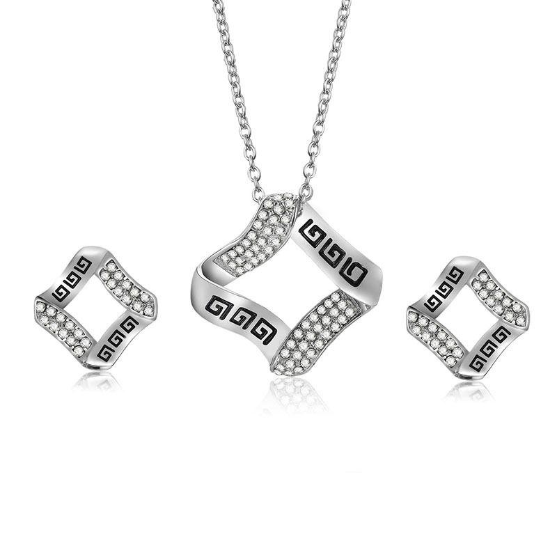 Alloy Korea  necklace  61172511 alloy NHXS170261172511alloy