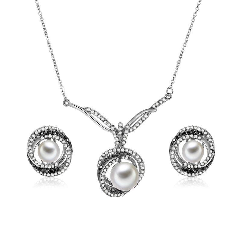 Alloy Korea  necklace  (61172487 alloy) NHXS1710-61172487-alloy