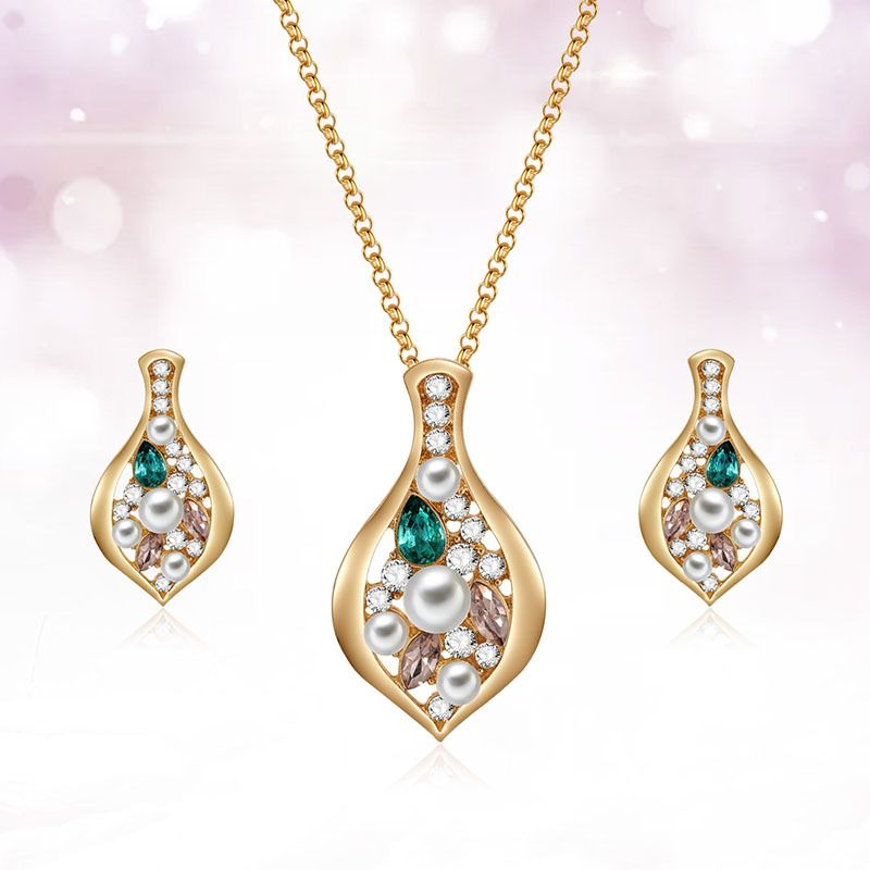 Alloy Fashion  necklace  61172529 NHXS171361172529