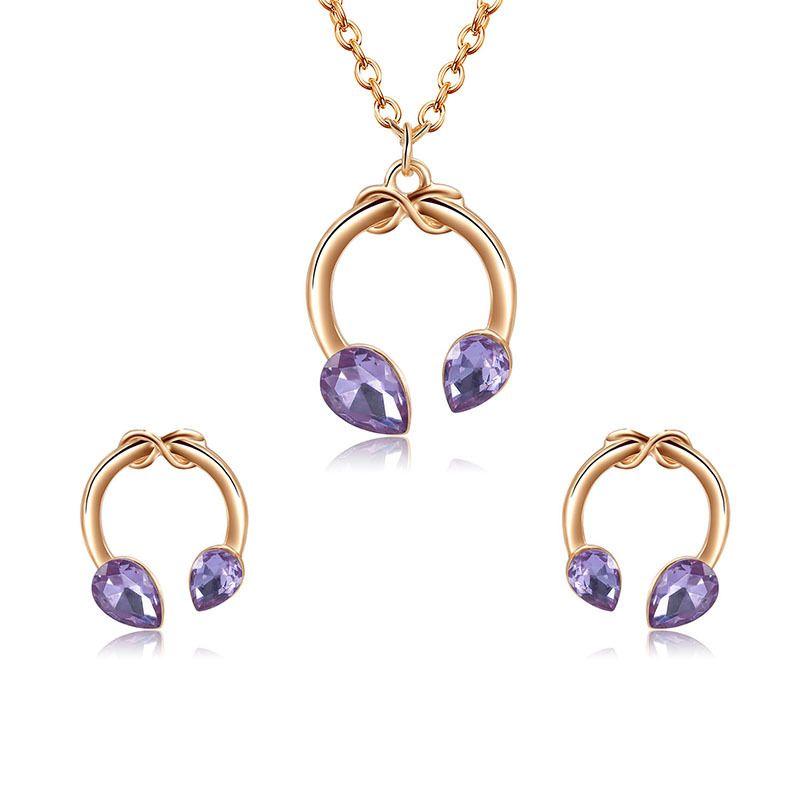 Alloy Fashion  necklace  (61172533) NHXS1714-61172533