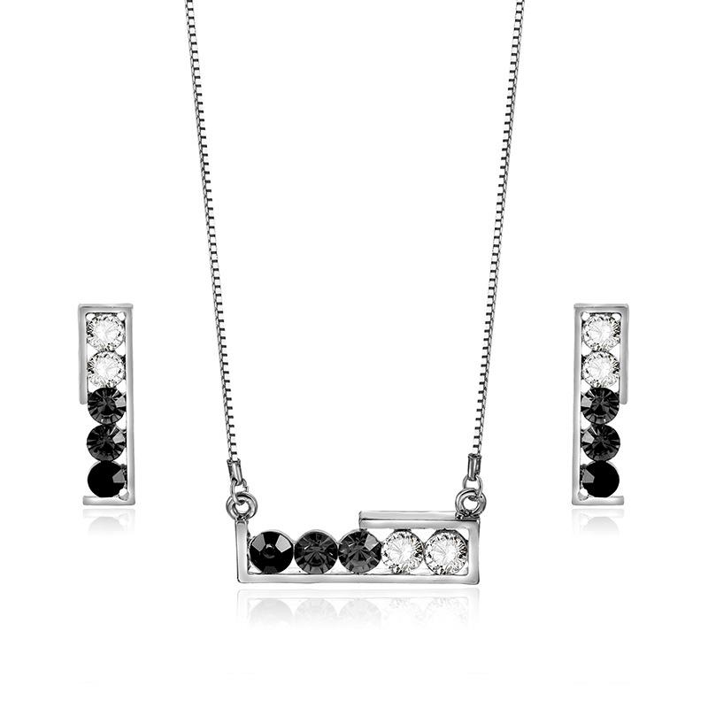 Alloy Korea  necklace  (61172433 alloy) NHXS1716-61172433-alloy