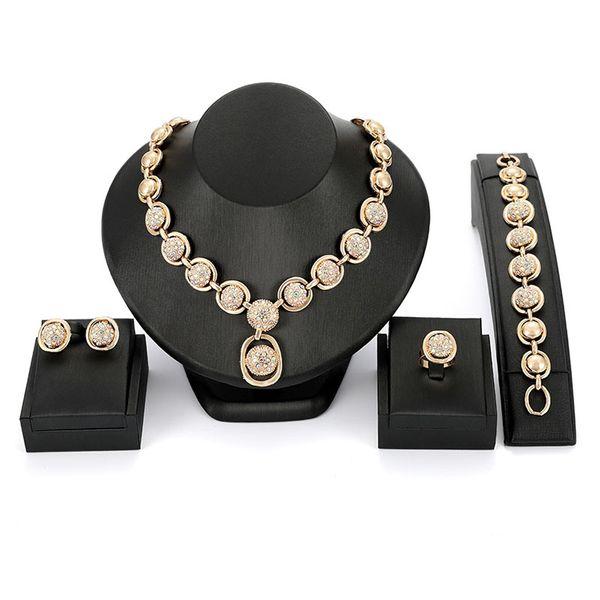 Alloy Fashion  necklace  (61174432 alloy) NHXS1718-61174432-alloy