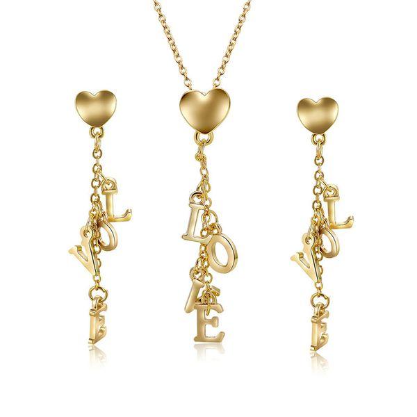 Alloy Korea  necklace  (61172498 alloy) NHXS1721-61172498-alloy