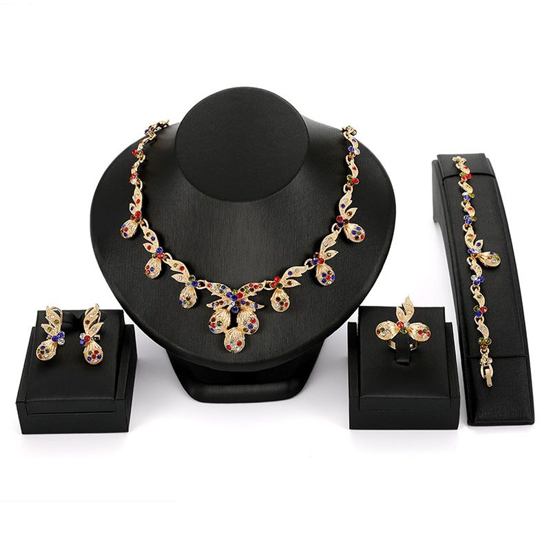 Alloy Fashion  necklace  (61174415) NHXS1724-61174415