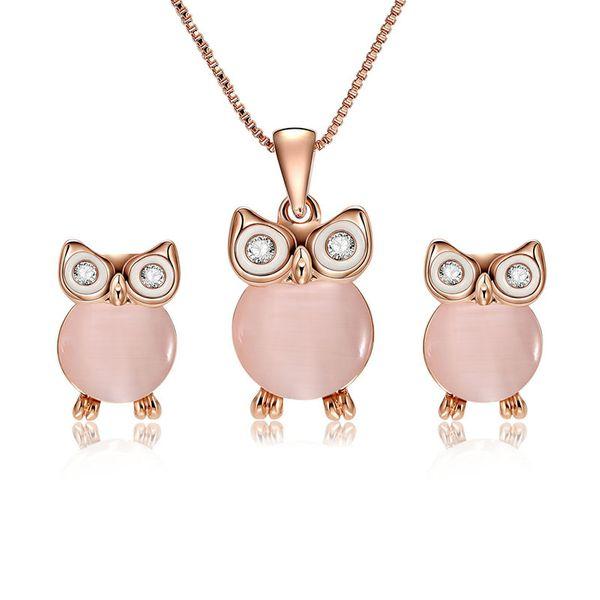 Alloy Korea  necklace  (61172456 rose alloy) NHXS1729-61172456-rose-alloy