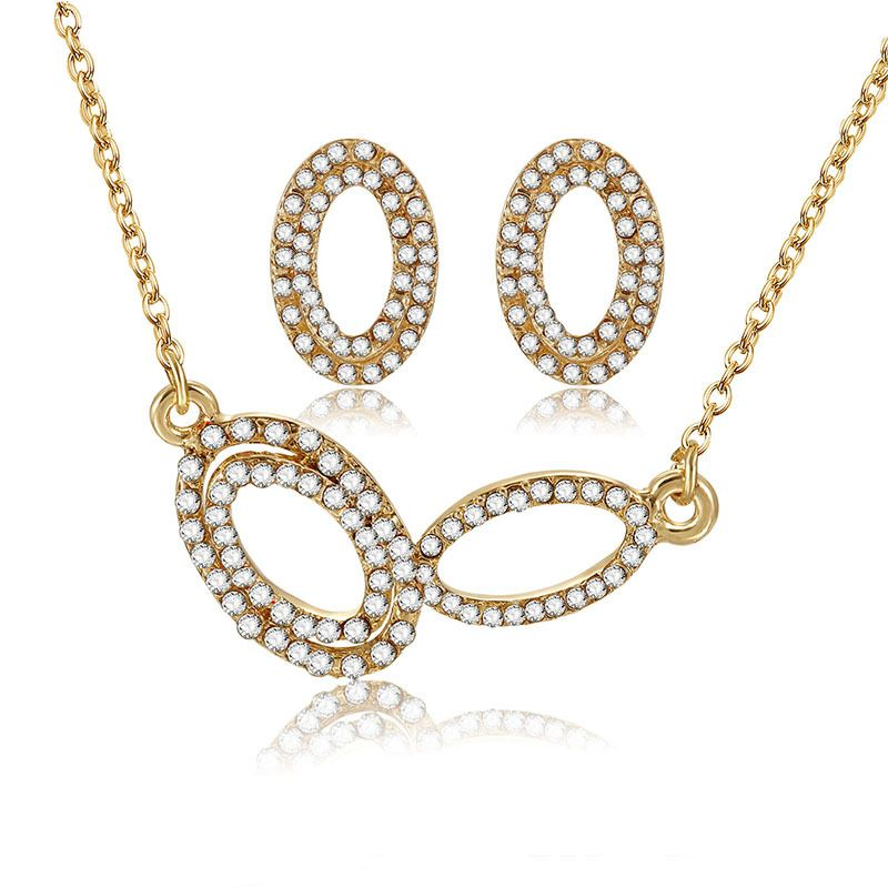 Alloy Korea  necklace  (61172490 alloy) NHXS1732-61172490-alloy