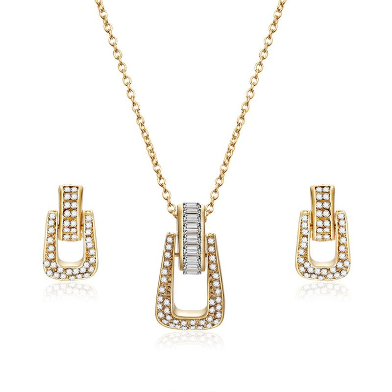 Alloy Korea  necklace  (61172464 alloy) NHXS1742-61172464-alloy