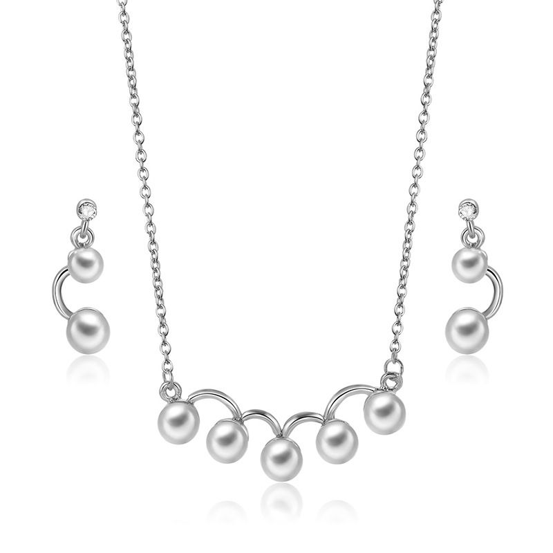 Alloy Fashion  necklace  (61172541A alloy) NHXS1744-61172541A-alloy