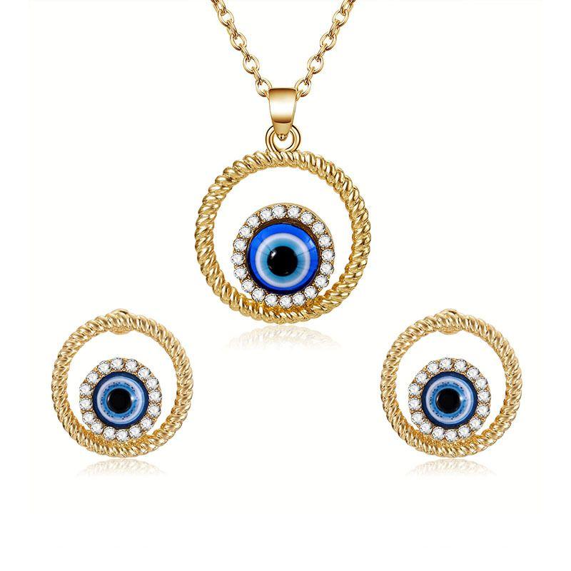 Alloy Simple  necklace  61172489 alloy NHXS175761172489alloy