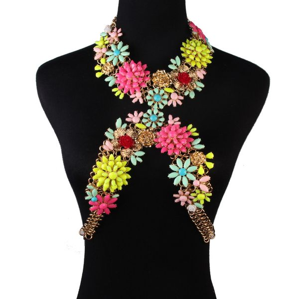 Alloy Fashion Flowers Body accessories  (color) NHJQ10648-color