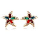 Alloy Fashion Geometric earring  color NHVA5104color