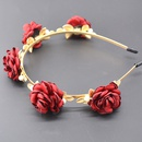 Alloy Vintage Bows Hair accessories  red NHNT0624red