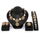 Alloy Fashion  necklace  61174434 alloy NHXS167261174434alloy