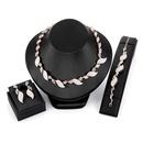 Alloy Fashion  necklace  61173217 alloy NHXS167961173217alloy