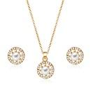 Alloy Korea  necklace  61172494 alloy NHXS168761172494alloy