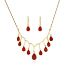 Alloy Korea  Bridal jewelry  61172509 red NHXS169061172509red