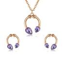 Alloy Fashion  necklace  61172533 NHXS171461172533