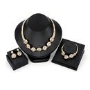 Alloy Fashion  necklace  61173190 alloy NHXS171761173190alloy