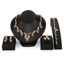 Alloy Fashion  necklace  61174415 NHXS172461174415