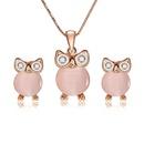 Alloy Korea  necklace  61172456 rose alloy NHXS172961172456rosealloy