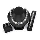 Alloy Fashion  necklace  61173216 alloy NHXS173561173216alloy