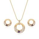 Alloy Korea  necklace  61172527 alloy NHXS175361172527alloy