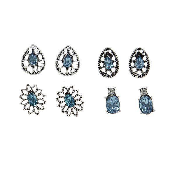 Alloy Vintage Geometric earring  (Photo Color) NHBQ1782-Photo-Color