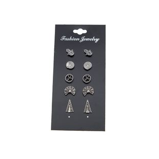 Alloy Fashion Geometric earring  (Photo Color) NHBQ1789-Photo-Color's discount tags